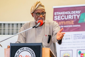 We Have Ranches To Cater For Over 5,000 Cows, No Need For Ruga Settlements -Governor Akeredolu