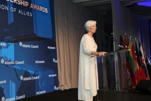 UPDATE: IMF Managing Director, Christine Lagarde, Explains Why She's Quitting
