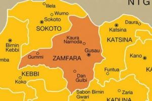 Zamfara Killing: I'm In Constant Contact With Bandits, Says Nigeria Police Chief As Residents Carry Corpse To Government House