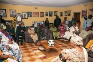 Herdsmen Attack: South-west Governors, Ex-governor Mimiko, Political Chieftains Visit Fasoranti Over Daughter's Killing