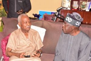 Tinubu Visits Fasoranti, Reacts To Report Linking Fasoranti's Daughter's Killers To Herdsmen
