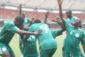 Nigeria's FLYING EAGLES held to a 1-1 draw by Burkina Faso