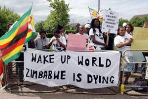 Zimbabwean police ban PROTEST over economic woes