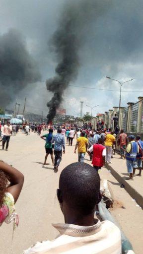TANKER EXPLOTION in Onitsha Market